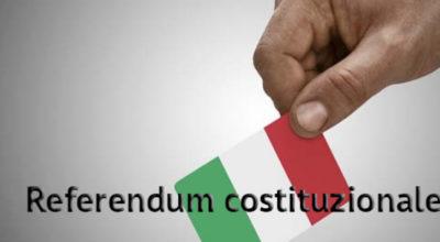 Referendum Costituzionale. Voti di scrutinio finale.