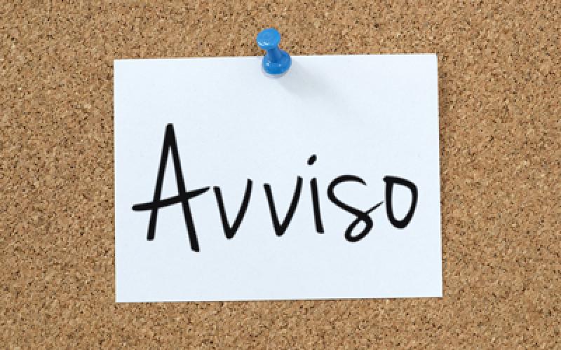 """Avviso Campus Estivo per Minori """" Vacanze & Sport"""" ."""